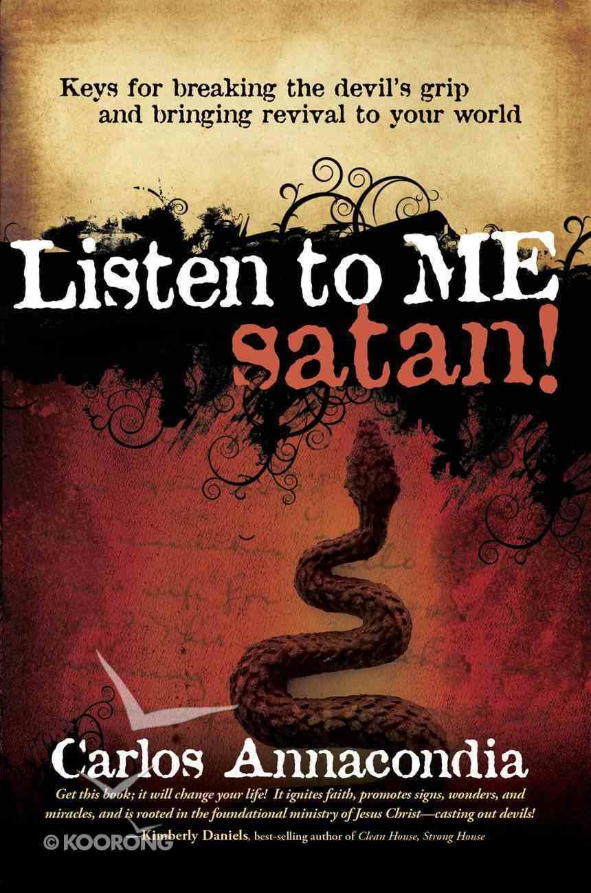 Listen to Me Satan! eBook