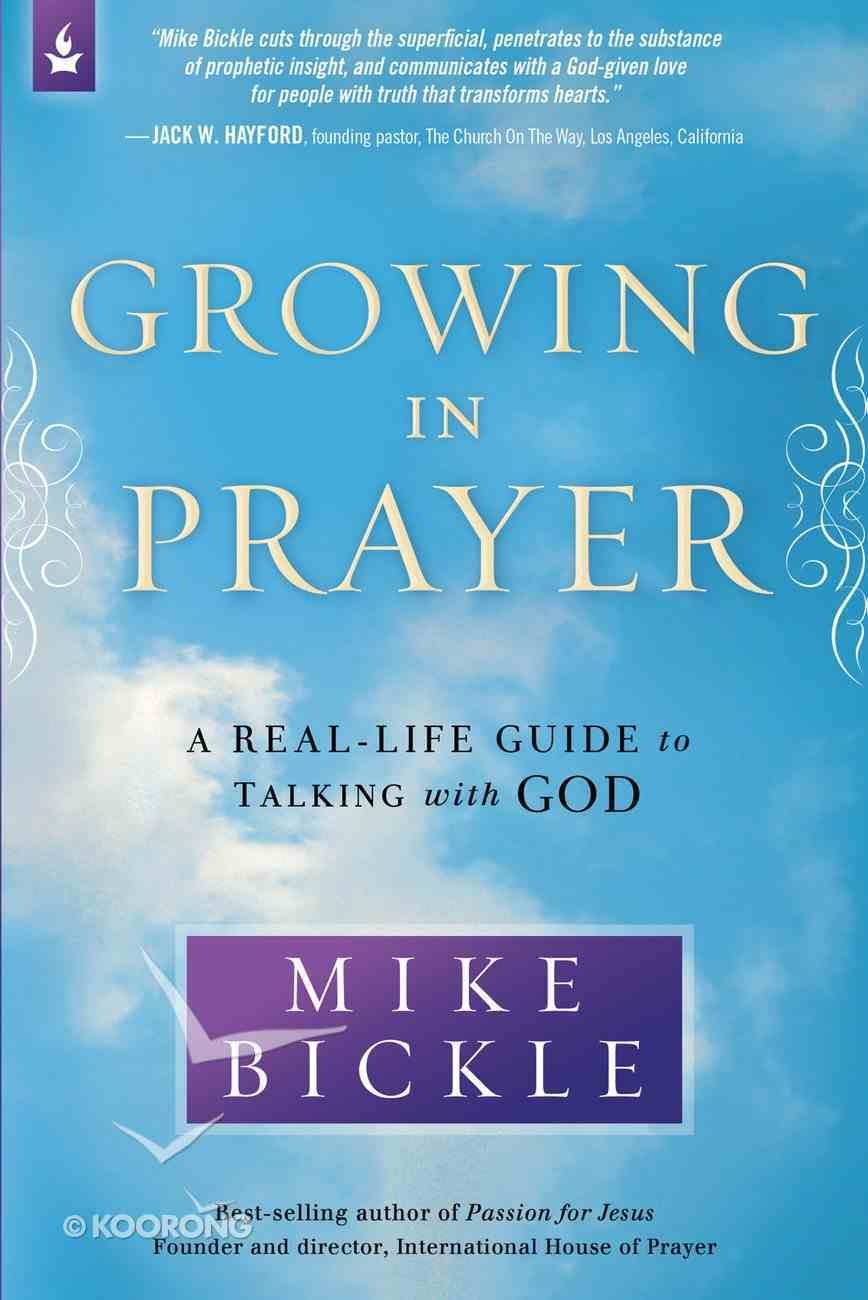 Growing in Prayer eBook