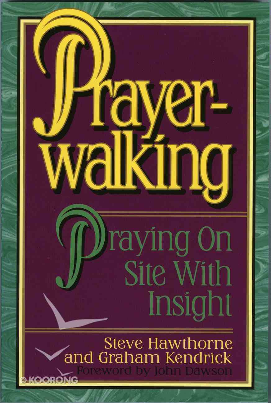 Prayer Walking eBook