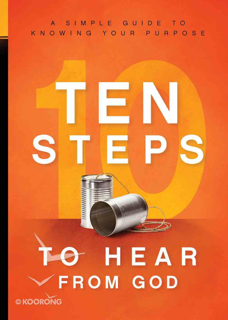 10 Steps to Hear From God eBook