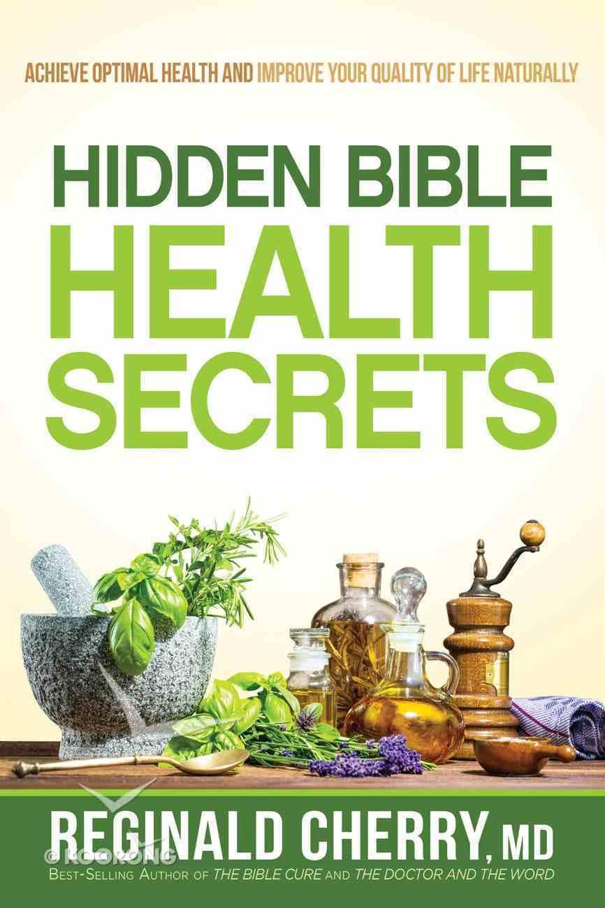 Hidden Bible Health Secrets eBook