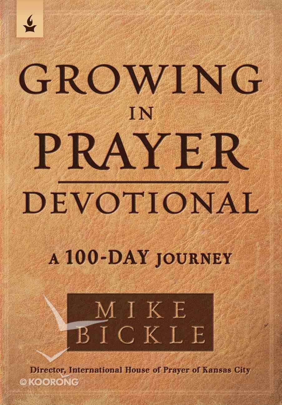 Growing in Prayer Devotional eBook