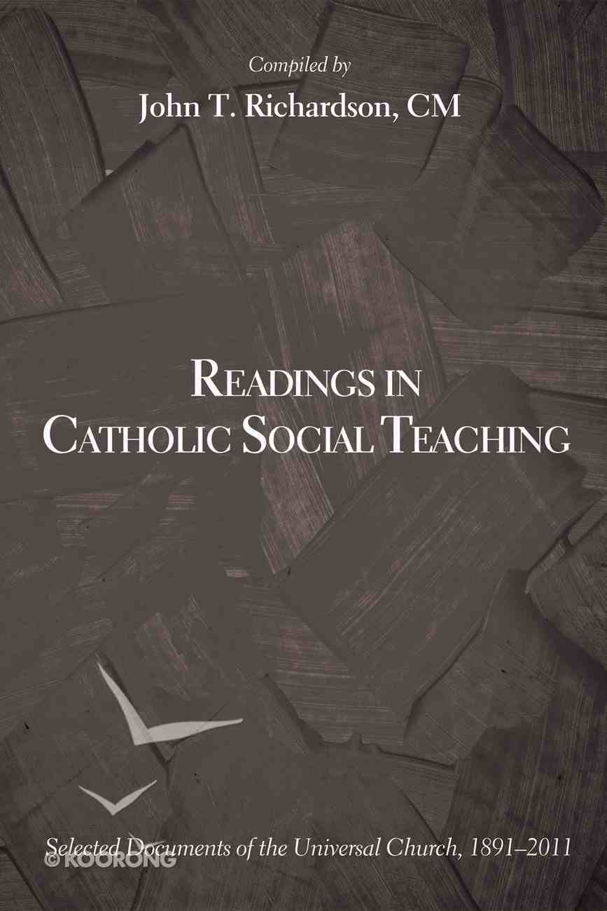 Readings in Catholic Social Teaching eBook