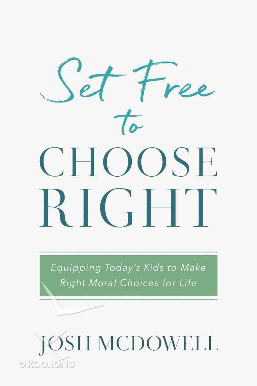 Set Free to Choose Right eBook