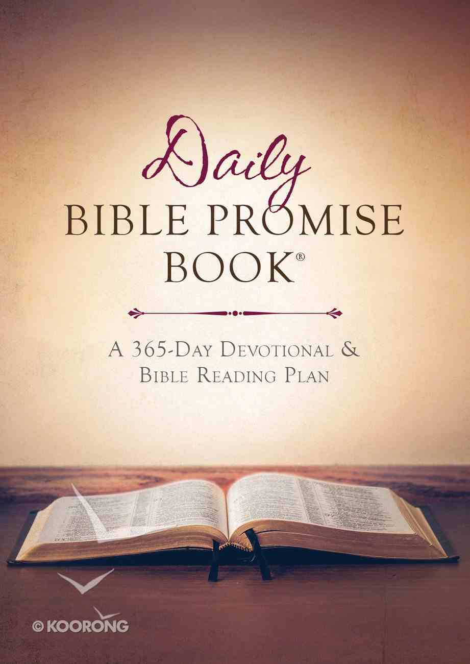 The Daily Bible Promise Book eBook