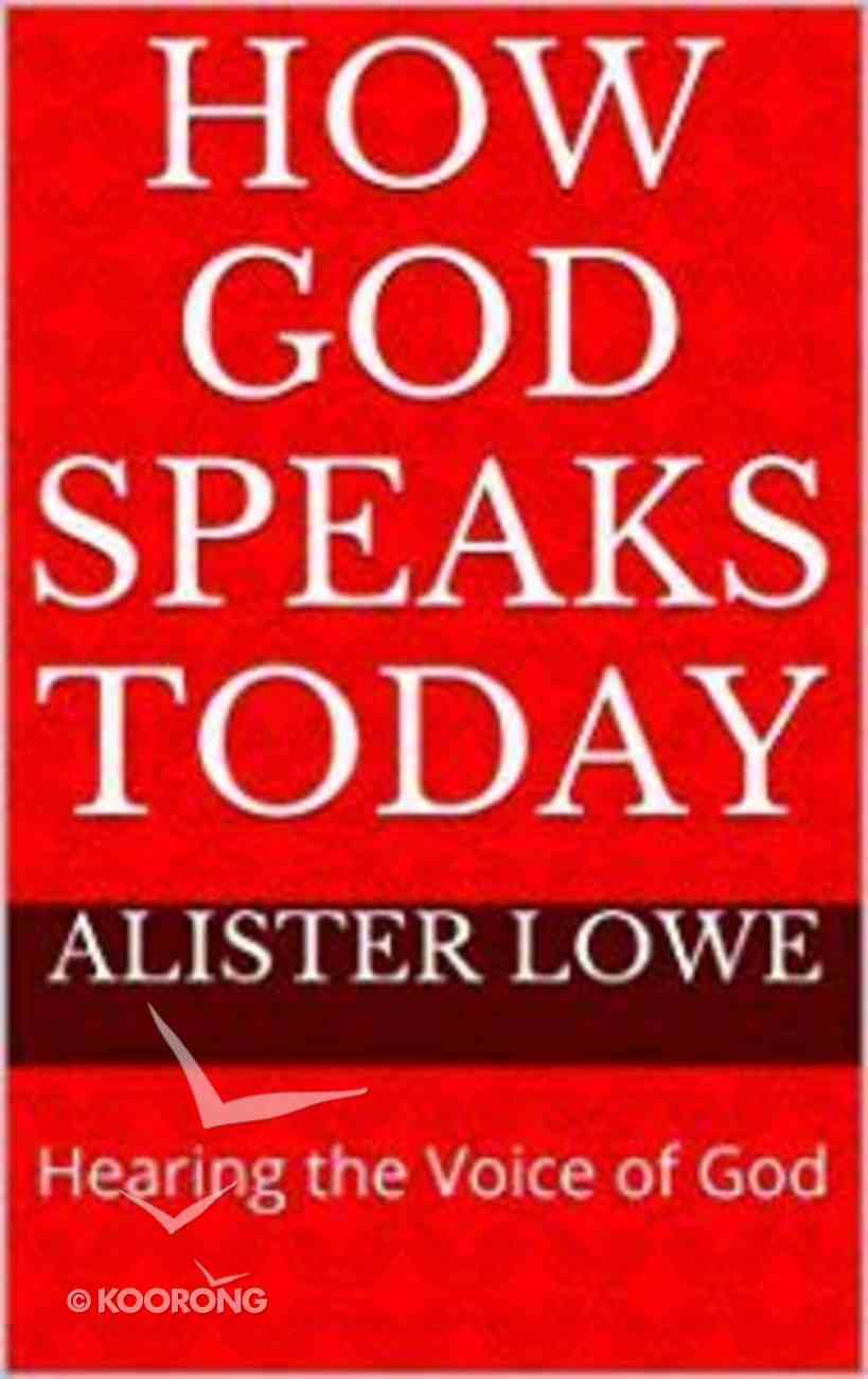 How God Speaks Today eBook