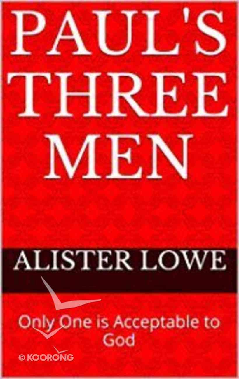 Paul's Three Men eBook