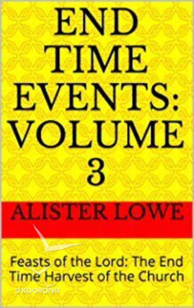 End Time Events (#03 in End Time Events Series) eBook