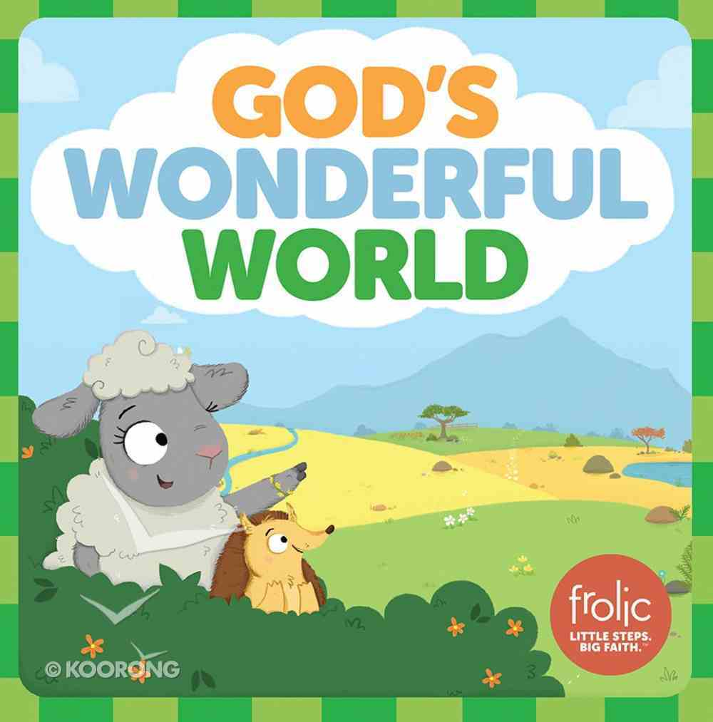 God's Wonderful World: A Book About the Five Senses (Frolic Series) Board Book