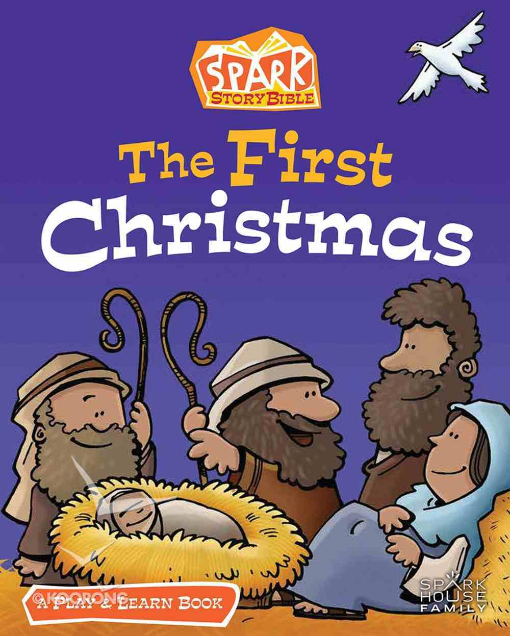 The First Christmas: A Spark Bible Play and Learn Book Paperback