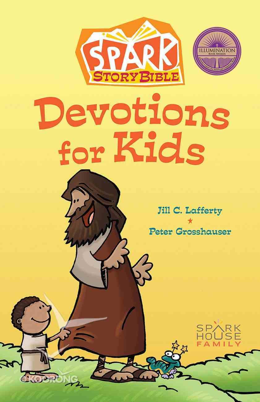 Spark Story Bible Devotions For Kids Hardback