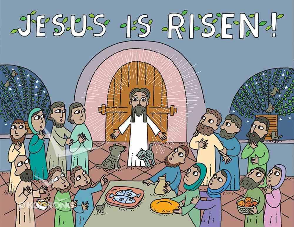 Jesus is Risen!: An Easter Pop-Up Book Hardback
