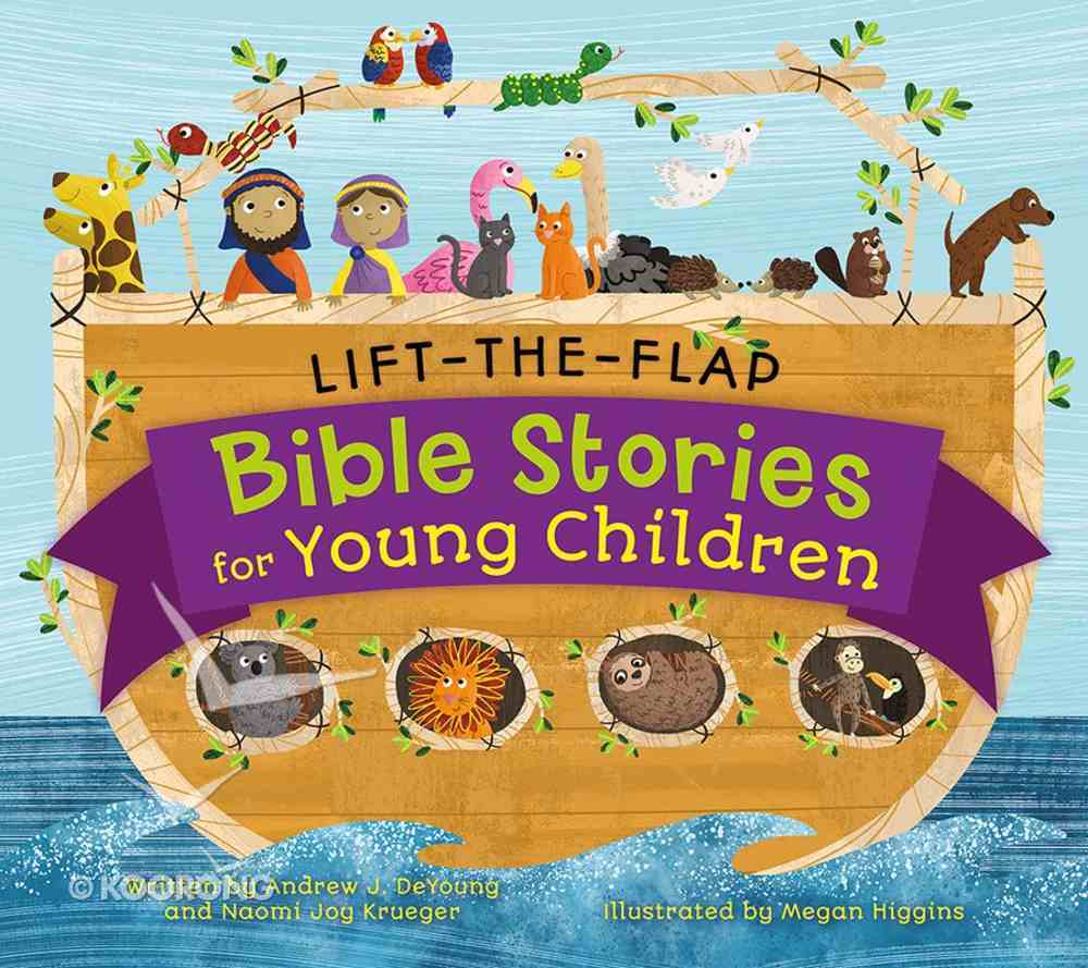Lift-The-Flap Bible Stories For Young Children Board Book