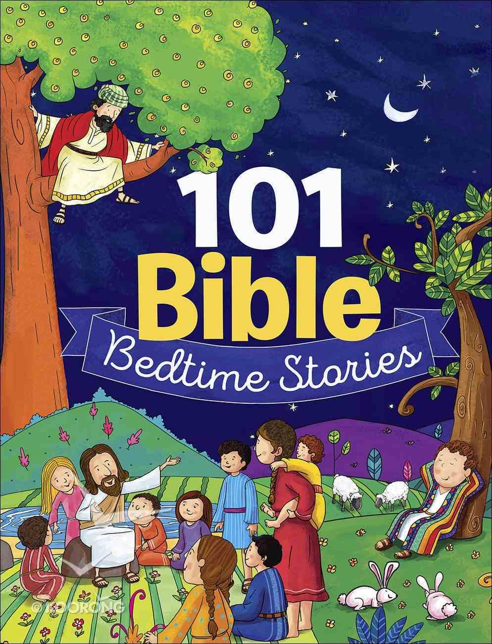 101 Bible Bedtime Stories Hardback