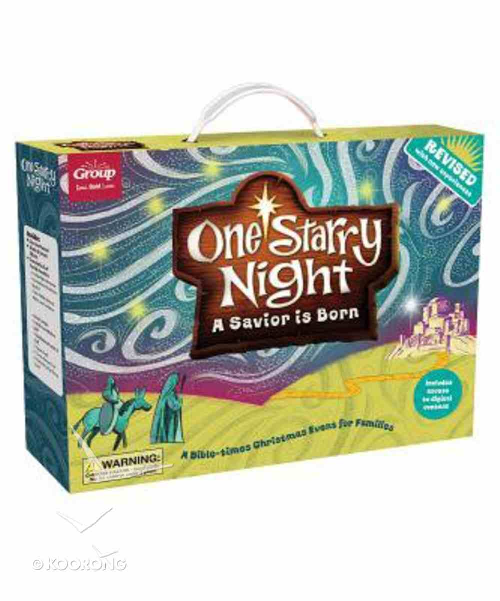 One Starry Night: A Savior is Born: A Bible-Times Christmas Event For Families Pack