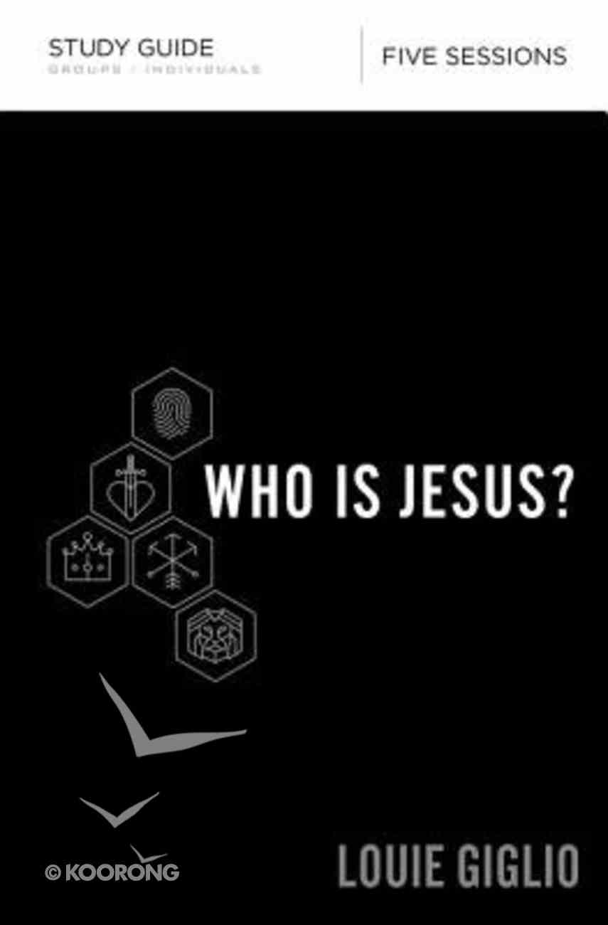 Who is Jesus? (Study Guide) Paperback