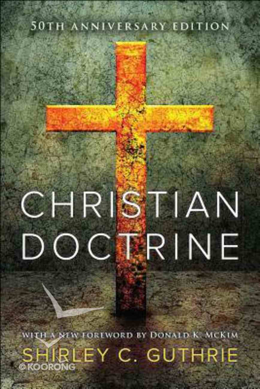 Christian Doctrine Paperback