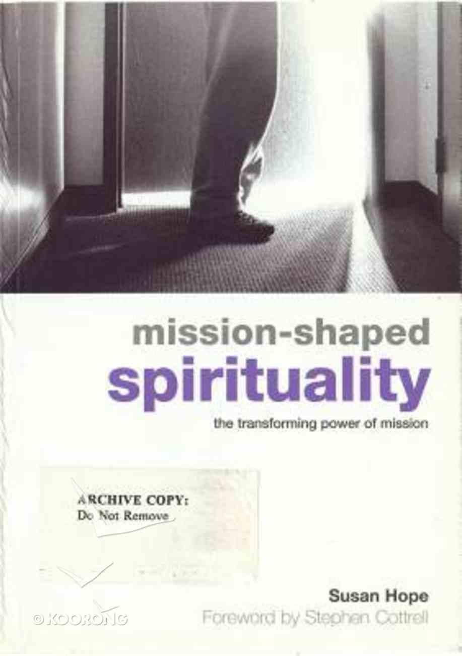 Mission-Shaped Spirituality Paperback