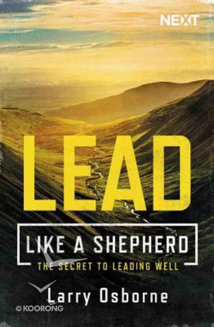Lead Like a Shepherd eBook