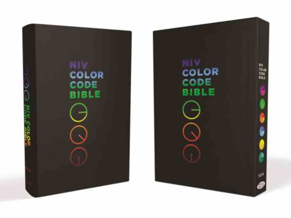 The NIV Color Code Bible Premium Imitation Leather