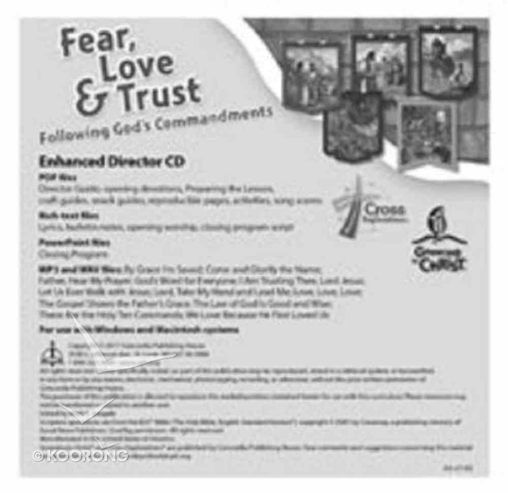 Fear, Love & Trust: Following God's Commandments CD