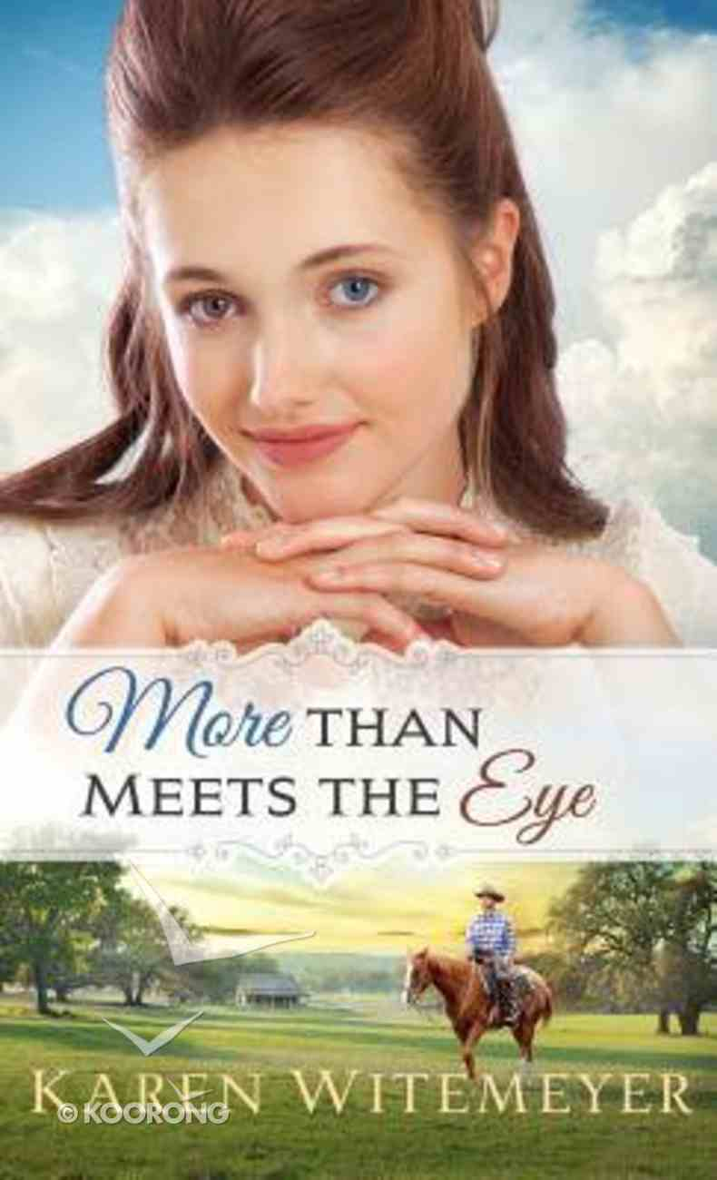 More Than Meets the Eye (#01 in A Patchwork Family Novel Series) Hardback