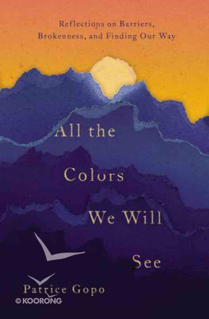 All the Colors We Will See: Reflections on Barriers, Brokenness and Finding Our Way Paperback