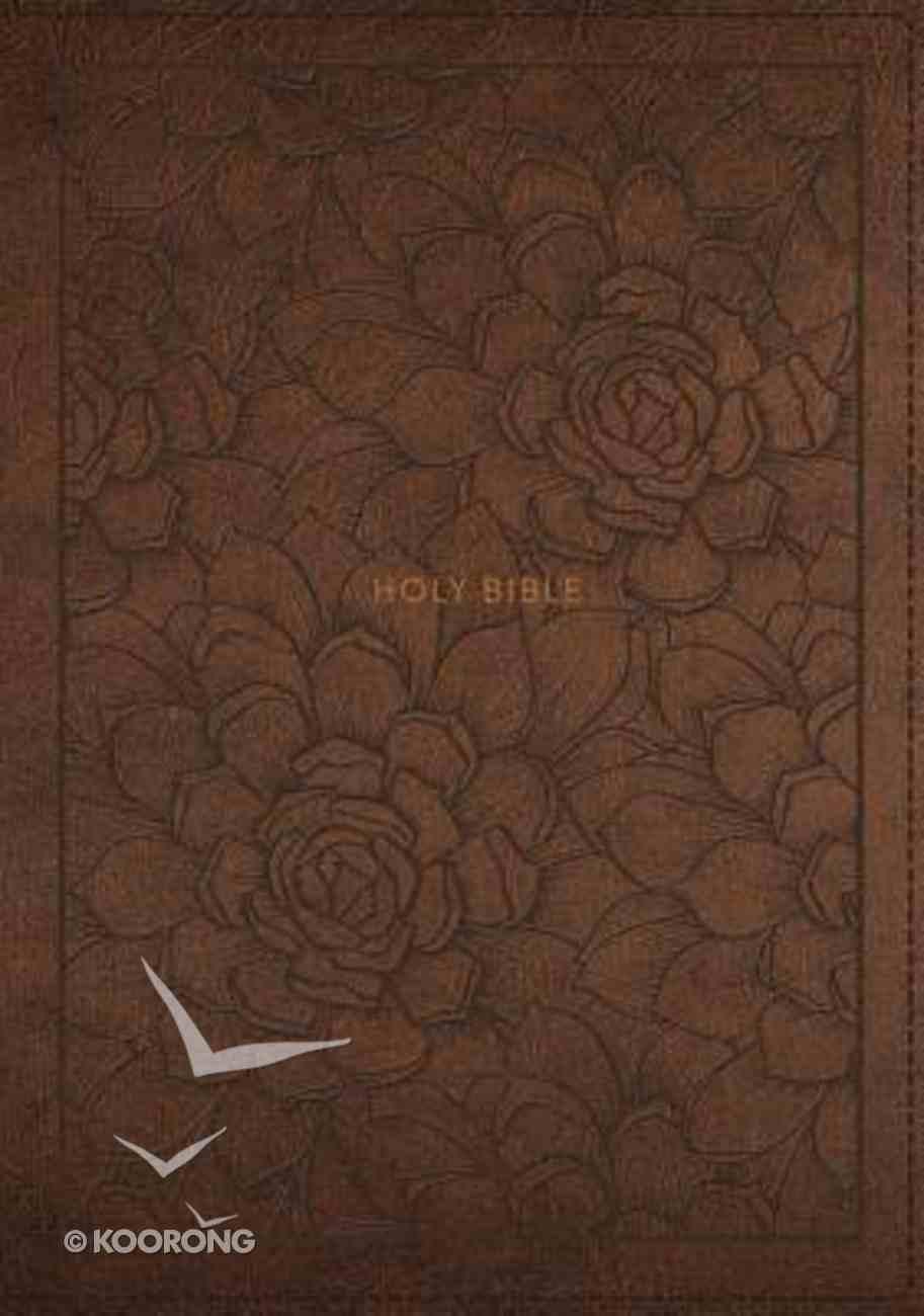 NKJV Reference Bible Brown (Black Letter Edition) Premium Imitation Leather