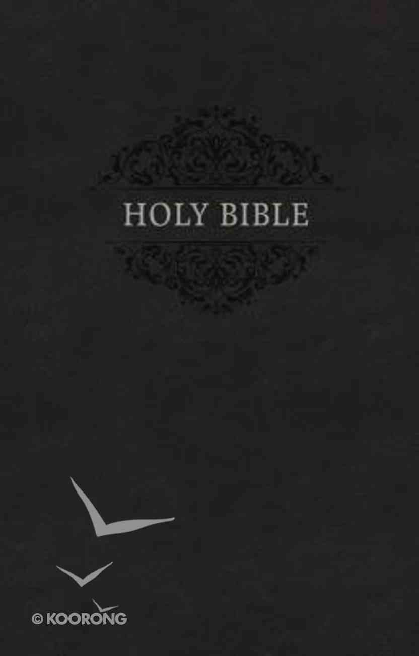 KJV Holy Bible Soft Touch Edition Black Premium Imitation Leather