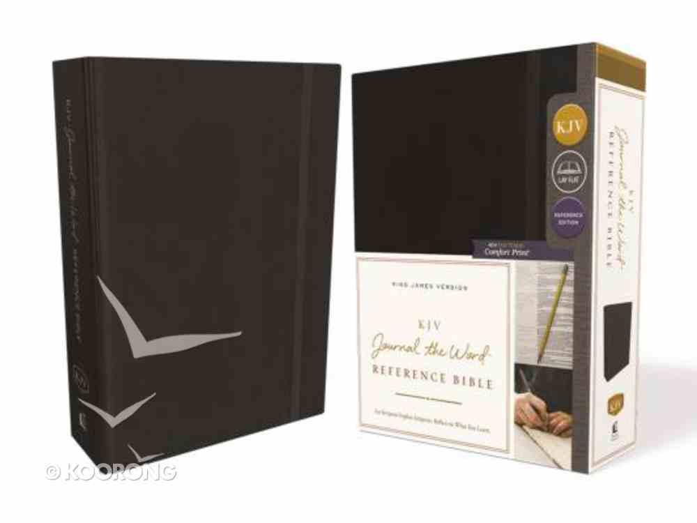 KJV Journal the Word Reference Bible Black (Red Letter Edition) Hardback