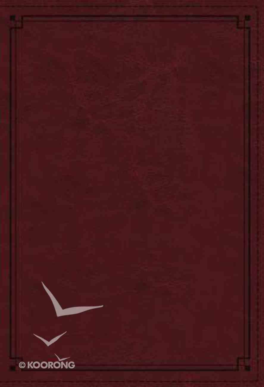 NKJV Study Bible Red Indexed (Black Letter Edition) Imitation Leather