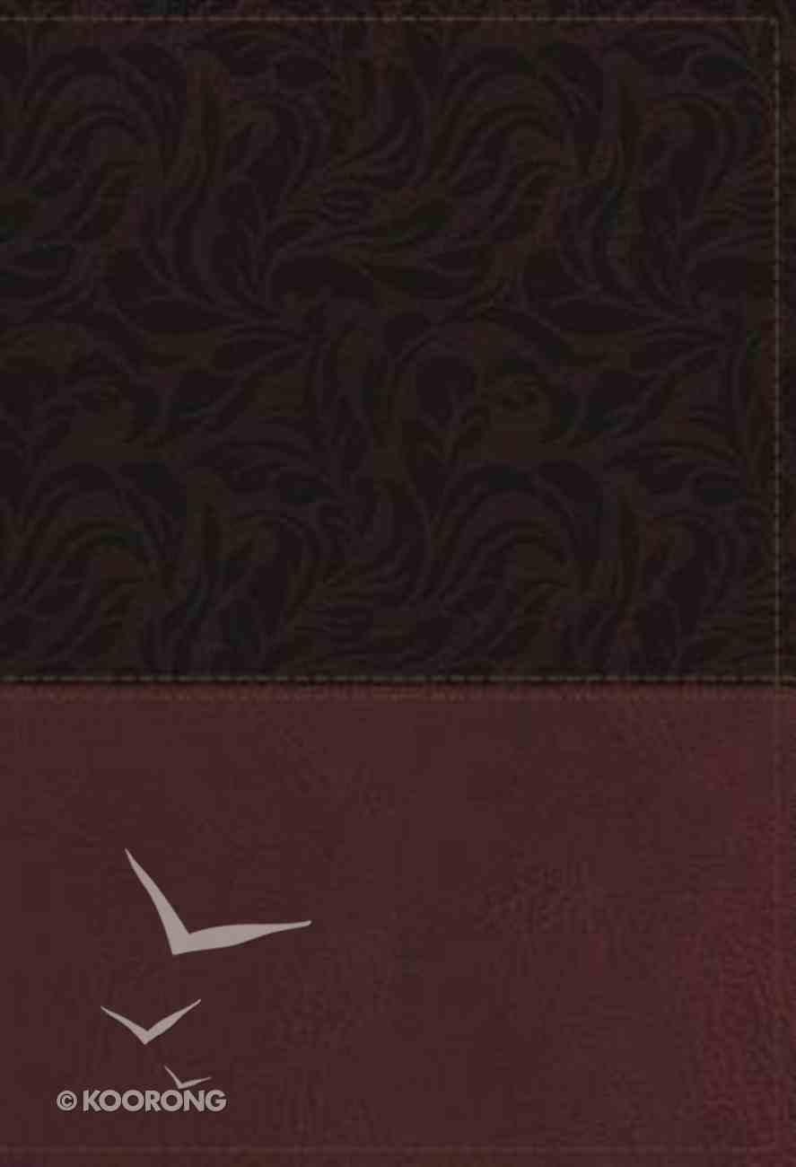 NKJV Study Bible Red Full-Color Indexed (Black Letter Edition) Imitation Leather