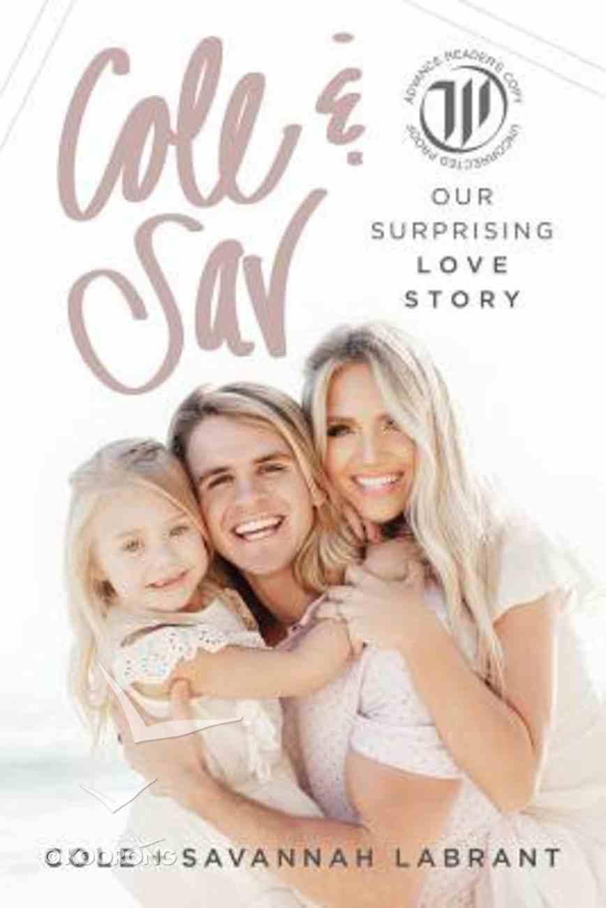Cole and Sav: Our Surprising Love Story Hardback