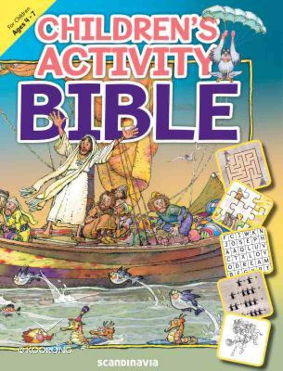 Children's Activity Bible: For Children Ages 4-7 Paperback