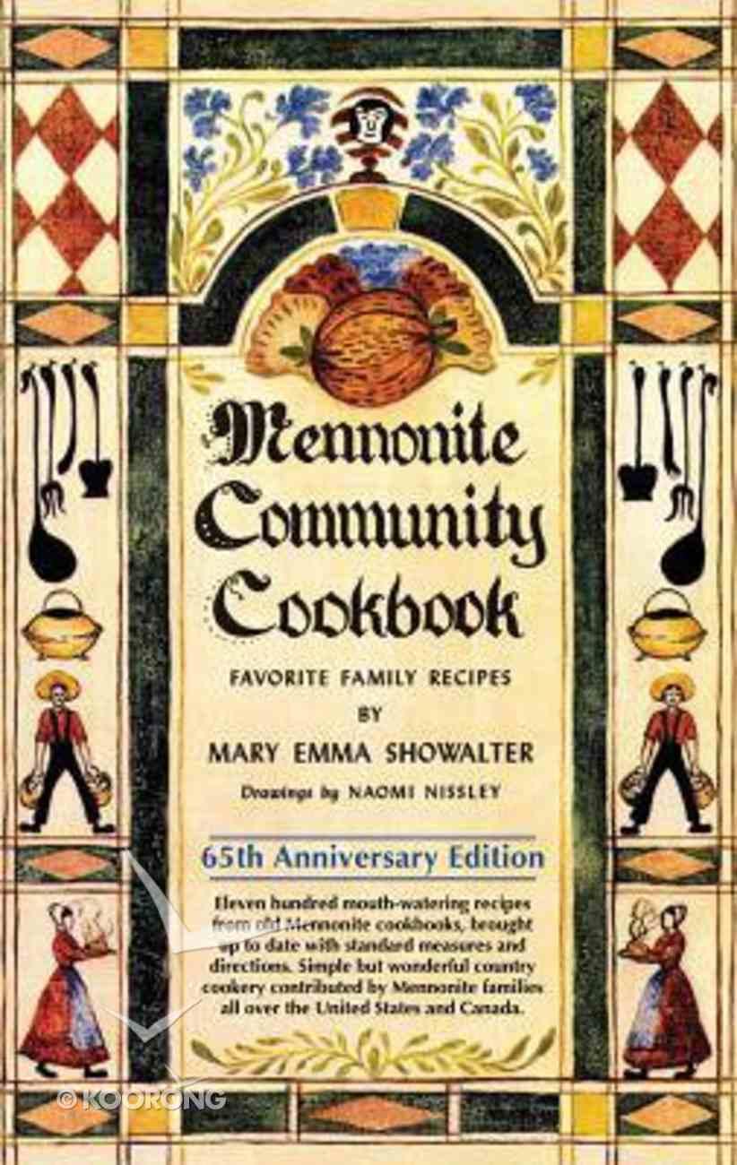 Mennonite Community Cookbook Spiral