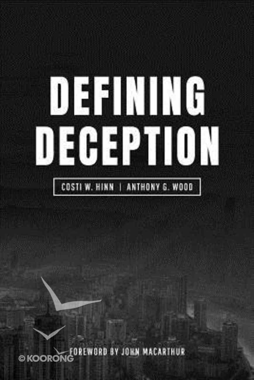 Defining Deception Paperback