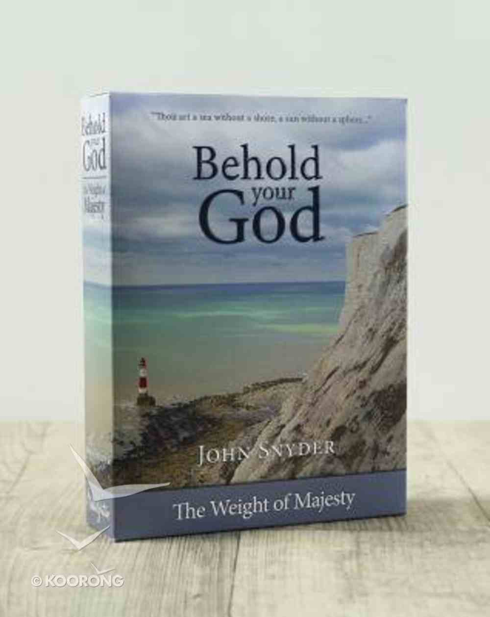 Behold Your God: The Weight of Majesty:13 DVD Set and Teacher's Guide Pack