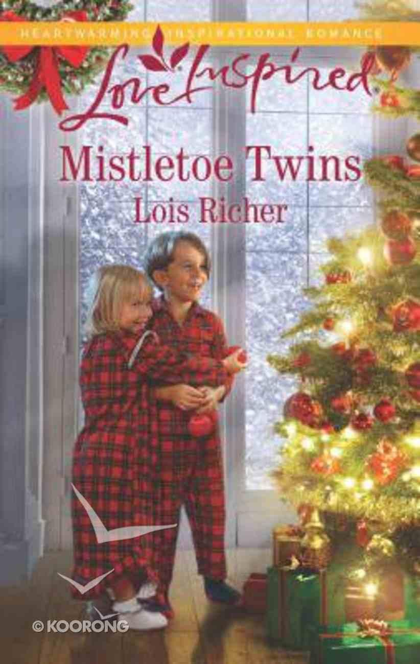 Mistletoe Twins (Rocky Mountain Haven) (Love Inspired Series) Mass Market