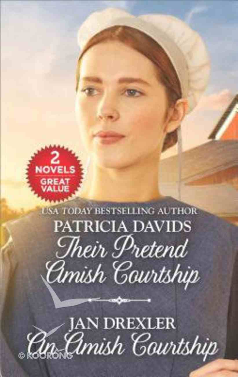 Their Pretend Amish Courtship / An Amish Courtship (2 Books in 1) (Love Inspired Series) Mass Market