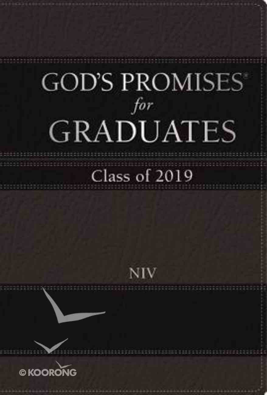 God's Promises For Graduates: Class of 2019 - Black (Niv) Hardback
