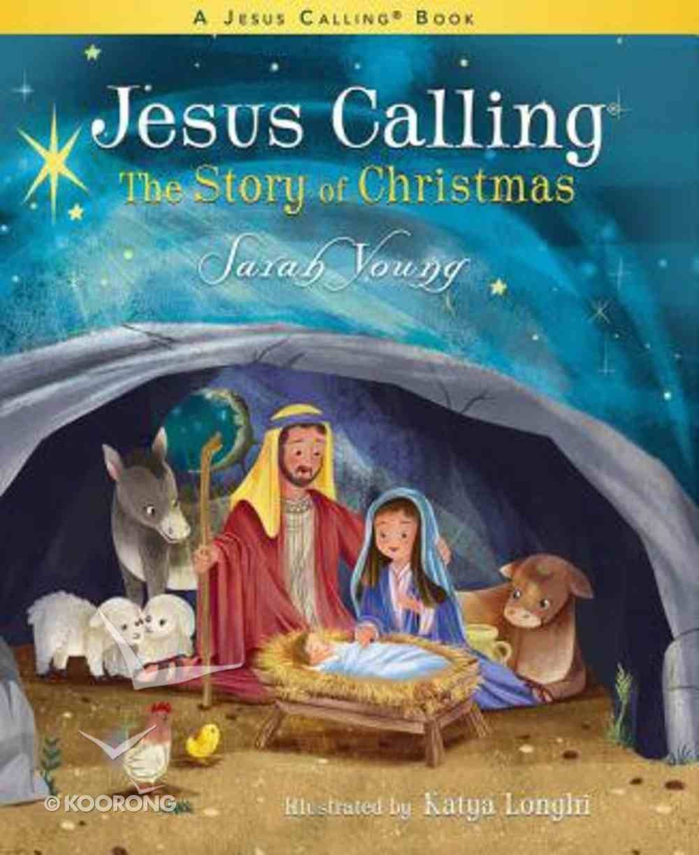 Jesus Calling: The Story of Christmas Board Book