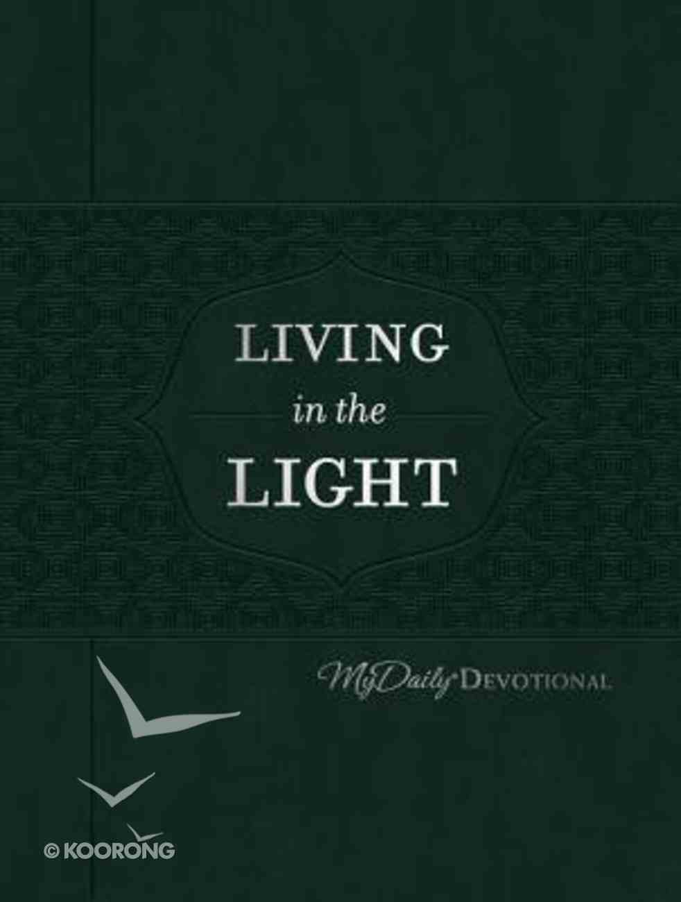 Mydaily Devotional: Living in the Light (365 Daily Devotions Series) Imitation Leather