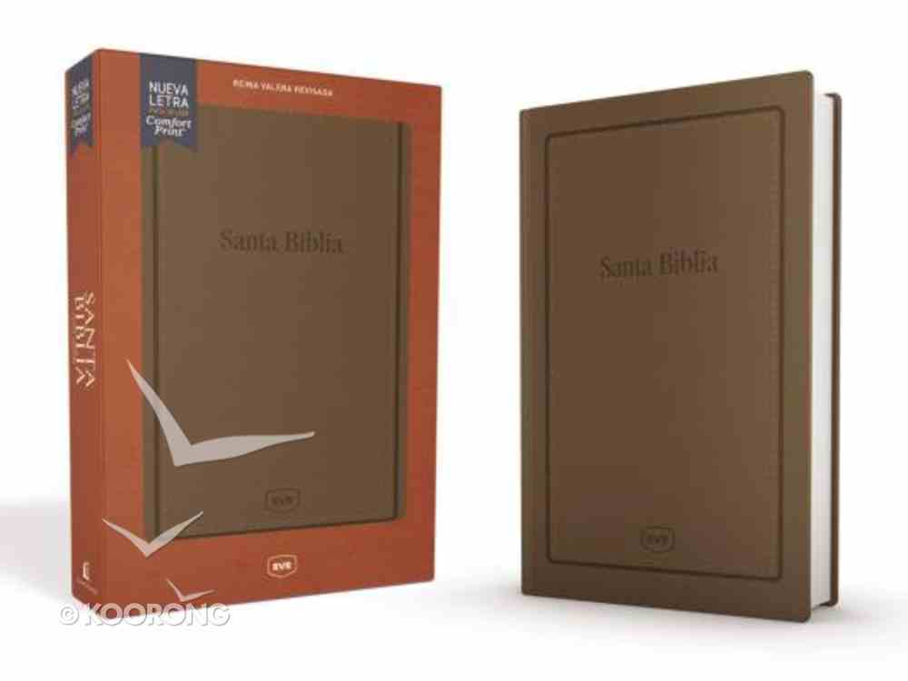 Rvr Santa Biblia Reina Valera Revisada Letra Extra Grande Tamano Manual (Red Letter Edition) Imitation Leather