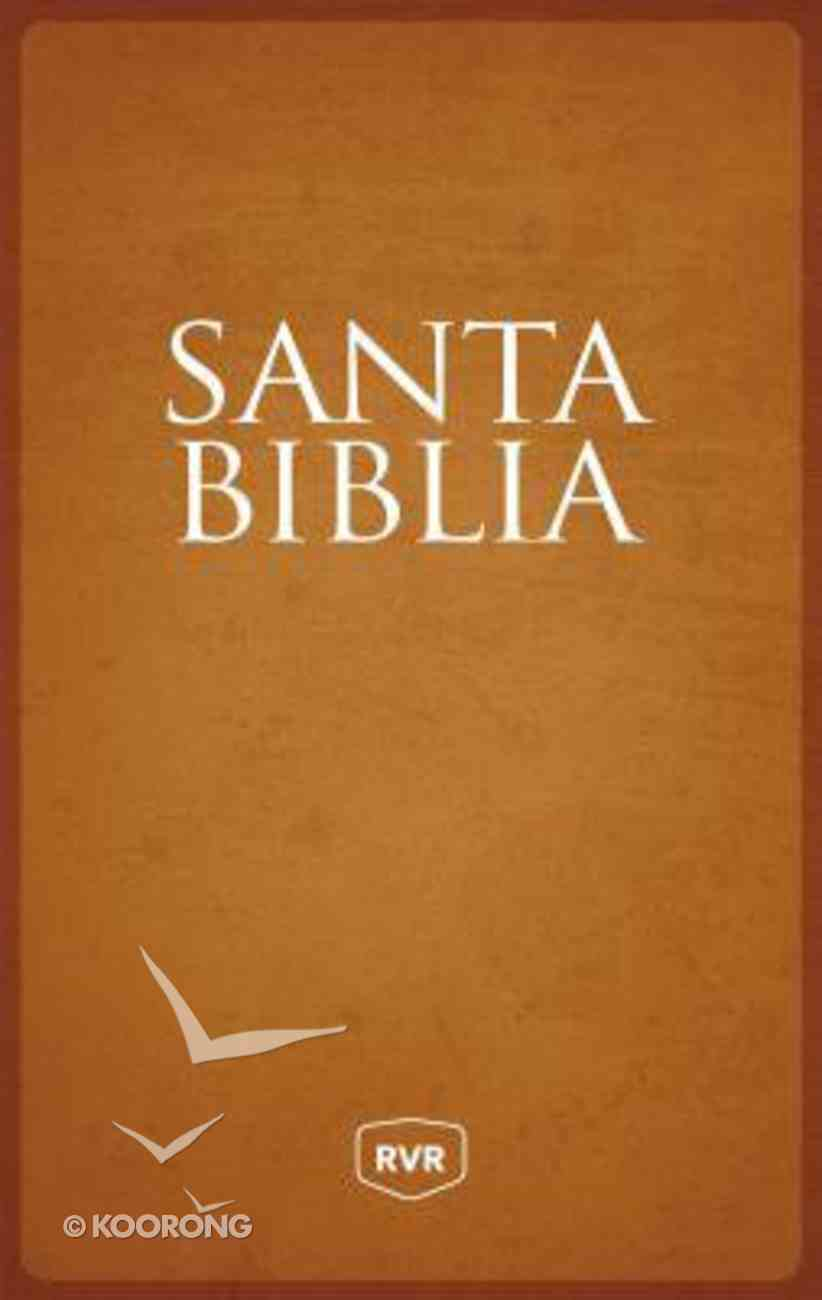 Rvr Santa Biblia Reina Valera Revisada Letra Extra Grande Tamano Manual (Red Letter Edition) Hardback