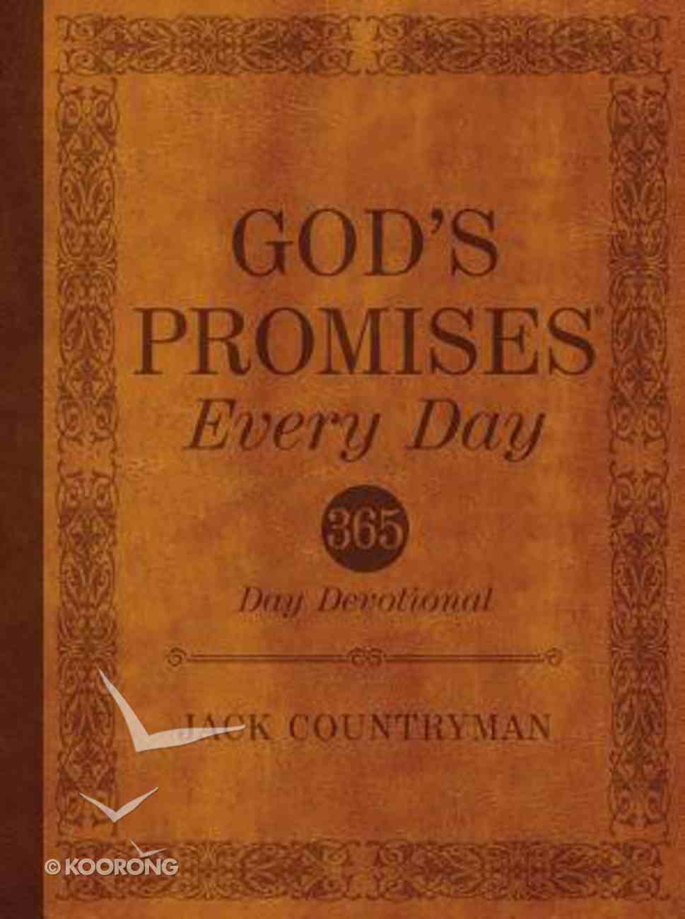 God's Promises Every Day (365 Daily Devotions Series) eBook