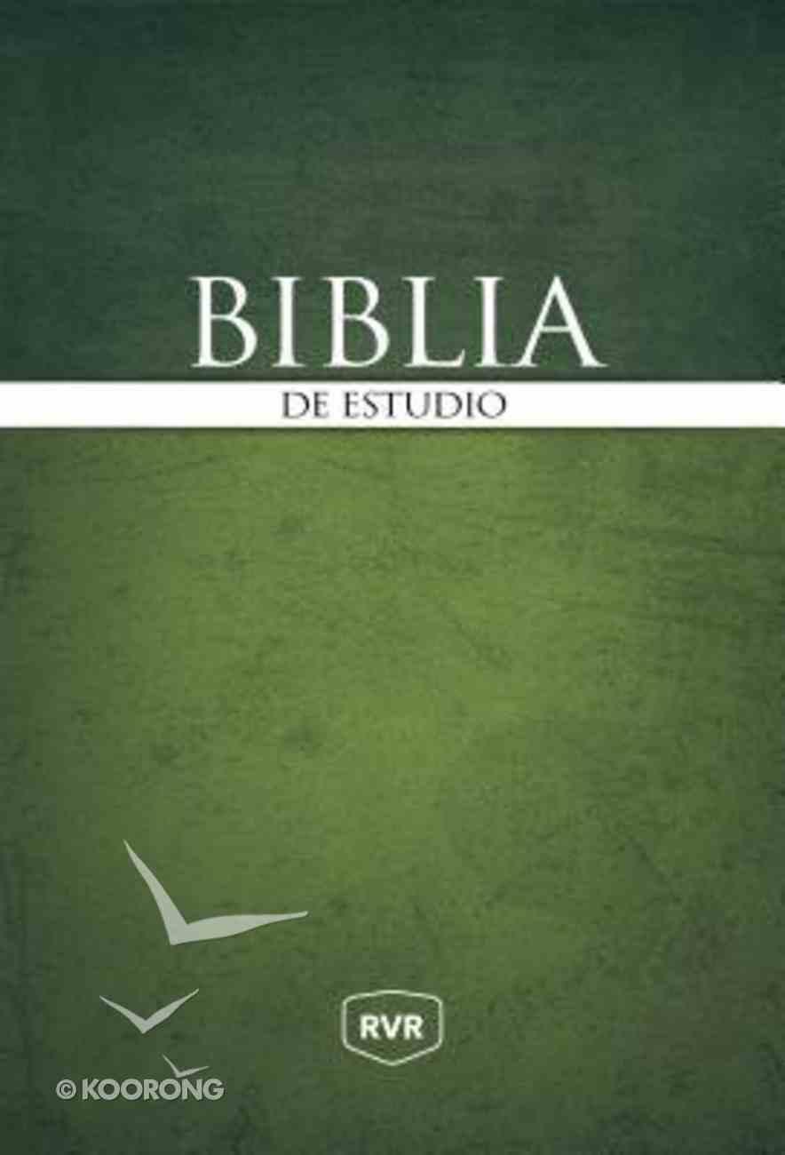 Rvr Santa Biblia De Estudio Reina Valera Revisada Hardback