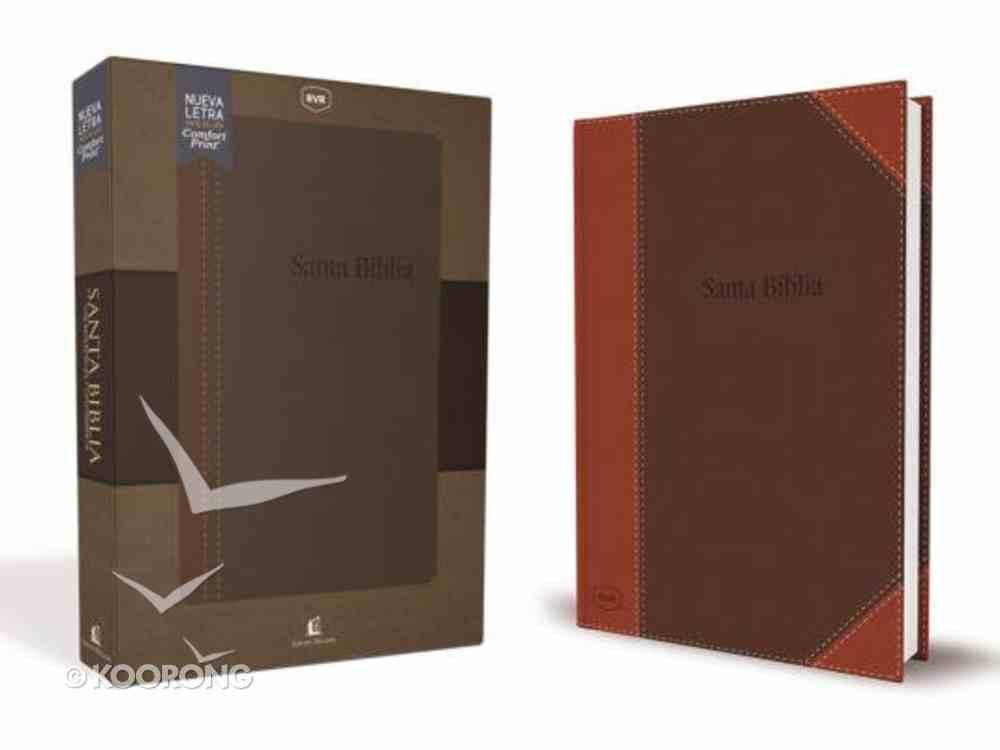 Rvr Santa Biblia Reina Valera Revisada Contemporanea (Red Letter Edition) Imitation Leather