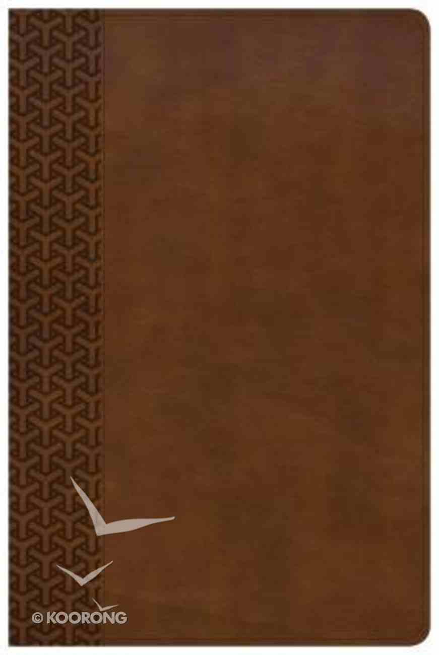 KJV Everyday Study Bible British Tan Imitation Leather