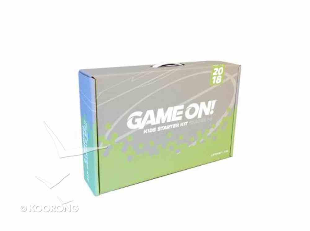 Kids Starter Kit Grades 1-6 (Vbs 2018 Game On! Series) Pack