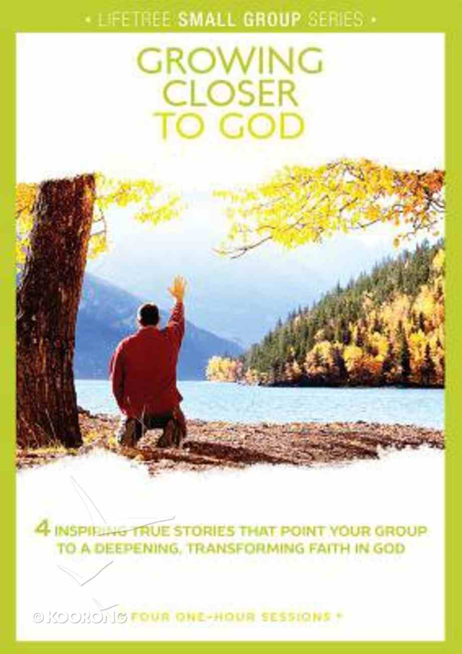 Lifetree: Growing Closer to God (Small Group Dvd Study) Dvd-rom
